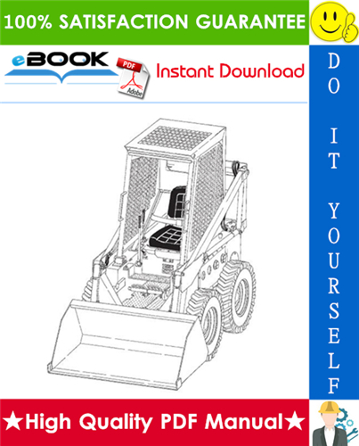 Thumbnail ☆☆ Best ☆☆ Bobcat 600, 600D, 610, 611 Skid Steer Loader Service Repair Manual + Operation & Maintenance Manual