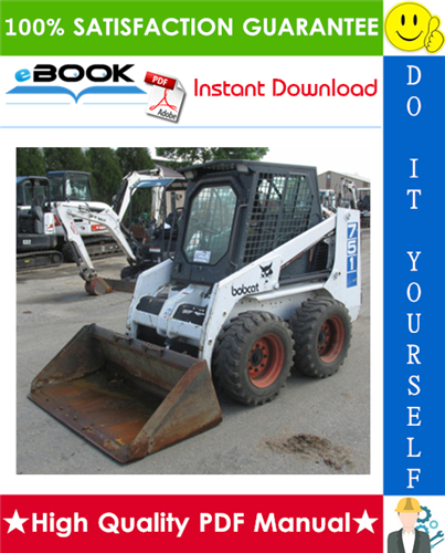 Thumbnail ☆☆ Best ☆☆ Bobcat 751 Skid Steer Loader Service Repair Manual + Operation & Maintenance Manual + Wiring/Hydraulic/Hydrostatic Schematic