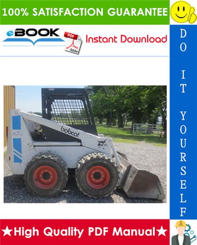 Thumbnail ☆☆ Best ☆☆ Bobcat 825 Skid Steer Loader Service Repair Manual + Operation & Maintenance Manual