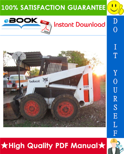 Thumbnail ☆☆ Best ☆☆ Bobcat M970 Diesel & Gasoline Skid Steer Loader Service Repair Manual + Operation & Maintenance Manual