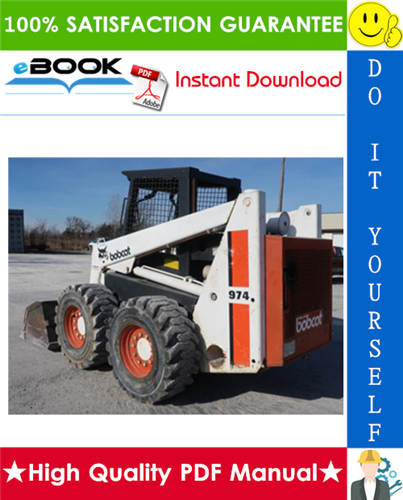 Thumbnail ☆☆ Best ☆☆ Bobcat 974, 975 Skid Steer Loader Service Repair Manual + Operation & Maintenance Manual