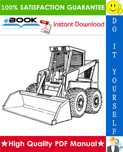 Thumbnail ☆☆ Best ☆☆ Bobcat 1213 Skid Steer Loader Service Repair Manual + Operation & Maintenance Manual