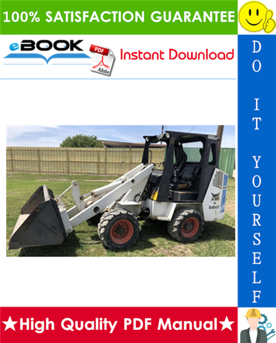 Thumbnail ☆☆ Best ☆☆ Bobcat 1600 Skid Steer Loader Service Repair Manual + Operation & Maintenance Manual