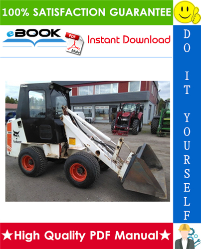 Thumbnail ☆☆ Best ☆☆ Bobcat 2000 Skid Steer Loader Service Repair Manual + Operation & Maintenance Manual