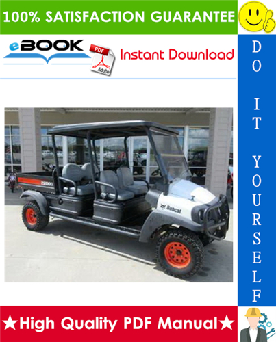 Thumbnail ☆☆ Best ☆☆ Bobcat 2200, 2200S, 2300 Utility Vehicle Service Repair Manual + Operation & Maintenance Manual