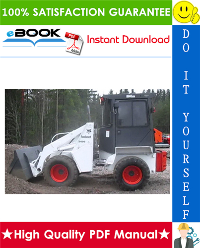 Thumbnail ☆☆ Best ☆☆ Bobcat 2400 Series Loader Service Repair Manual + Operation & Maintenance Manual