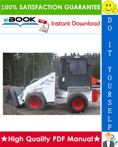 Thumbnail ☆☆ Best ☆☆ Bobcat 2400 Series Loader Service Repair Manual + Operation & Maintenance Manual
