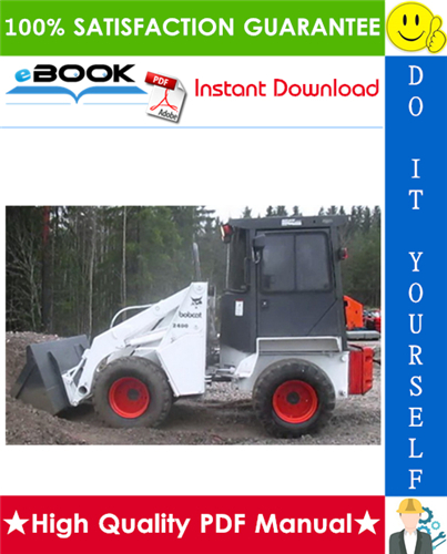 Thumbnail ☆☆ Best ☆☆ Bobcat 2410 Utility Vehicle Service Repair Manual + Operation & Maintenance Manual