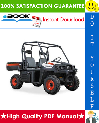 Thumbnail ☆☆ Best ☆☆ Bobcat 3200 Utility Vehicle Service Repair Manual + Operation & Maintenance Manual + Wiring Schematic