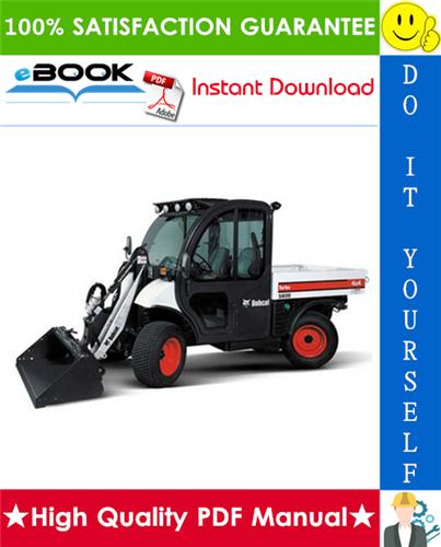 Thumbnail ☆☆ Best ☆☆ Bobcat Toolcat 5600 Utility Work Machine Service Repair Manual + Operation & Maintenance Manual + Electrical/Hydraulic/Hydrostatic Schematic