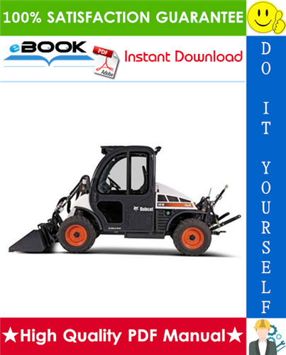 Thumbnail ☆☆ Best ☆☆ Bobcat Toolcat 5610 Utility Work Machine Service Repair Manual + Operation & Maintenance Manual + Electrical/Hydraulic/Hydrostatic Schematic