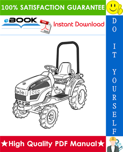 Thumbnail ☆☆ Best ☆☆ Bobcat CT120 Compact Tractor Service Repair Manual + Operation & Maintenance Manual + Wiring/Hydraulic/Hydrostatic Schematic