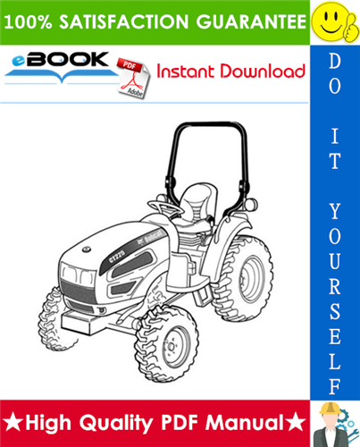 Thumbnail ☆☆ Best ☆☆ Bobcat CT225, CT230, CT235 Compact Tractor Service Repair Manual + Operation & Maintenance Manual + Wiring/Hydraulic/Hydrostatic Schematic