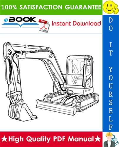 Thumbnail ☆☆ Best ☆☆ Bobcat E60 Compact Excavator Service Repair Manual + Operation & Maintenance Manual + Wiring/Hydraulic/Hydrostatic Schematic