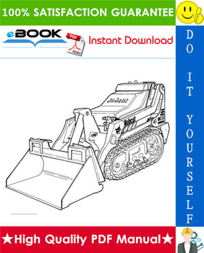Thumbnail ☆☆ Best ☆☆ Bobcat MT50 Mini Track Loader Service Repair Manual + Operation & Maintenance Manual + Wiring/Hydraulic/Hydrostatic Schematic