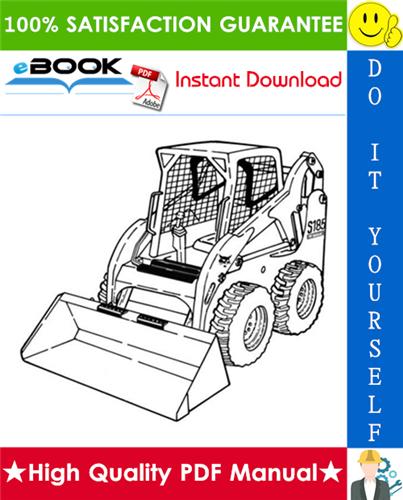 Thumbnail ☆☆ Best ☆☆ Bobcat S185 Skid-Steer Loader Service Repair Manual + Operation & Maintenance Manual + Wiring/Hydraulic/Hydrostatic Schematic