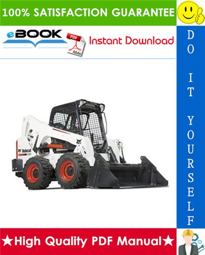 Thumbnail ☆☆ Best ☆☆ Bobcat S650 Skid-Steer Loader Service Repair Manual + Operation & Maintenance Manual + Wiring/Hydraulic/Hydrostatic Schematic