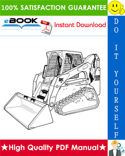 Thumbnail ☆☆ Best ☆☆ Bobcat T320 Compact Track Loader Service Repair Manual + Operation & Maintenance Manual + Wiring/Hydraulic/Hydrostatic Schematic