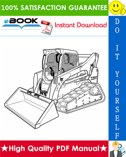 Thumbnail ☆☆ Best ☆☆ Bobcat T870 Compact Track Loader Service Repair Manual + Operation & Maintenance Manual + Wiring/Hydraulic/Hydrostatic Schematic