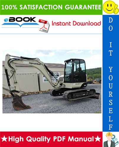 Thumbnail ☆☆ Best ☆☆ Ingersoll Rand ZX75 Utility Equipment Excavator Service Repair Manual + Operation & Maintenance Manual