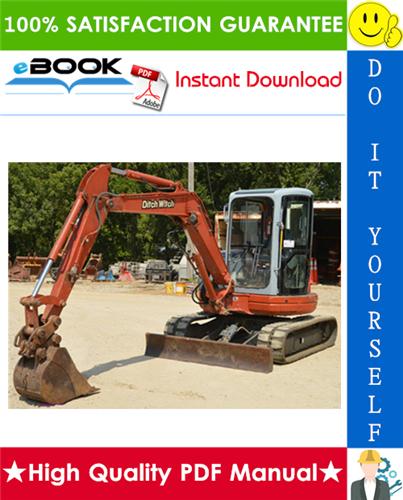 Thumbnail ☆☆ Best ☆☆ Ditch Witch MX45 Mini Excavator Operation & Maintenance Manual