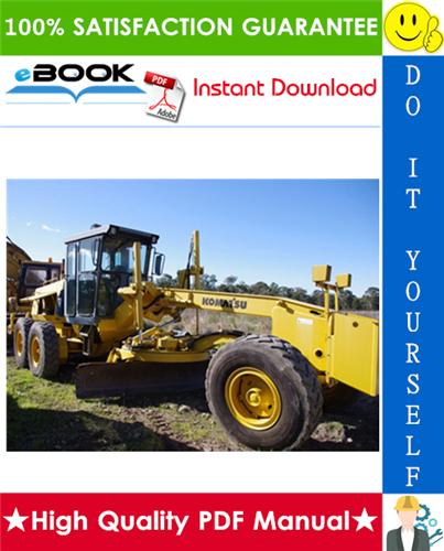 Thumbnail ☆☆ Best ☆☆ Komatsu GD530A-2, GD530AW-2, GD650A-2, GD650AW-2, GD670A-2, GD670AW-2 Motor Graders Operation & Maintenance Manual (Serial Number: 202001 and up)
