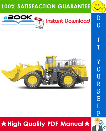 Thumbnail ☆☆ Best ☆☆ Komatsu WA800-3LC Wheel Loader Field Assembly Manual (Serial Number: A50001 and UP)