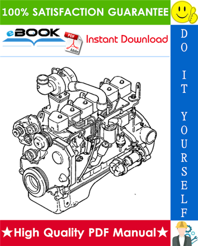 Thumbnail ☆☆ Best ☆☆ Komatsu KDC 410 & 610 Series Engine 1991 Model Specification Manual