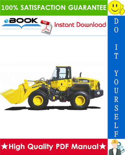 Thumbnail ☆☆ Best ☆☆ Komatsu WA320-3, WA320-3LE Wheel Loader Service Repair Manual (Serial Number: A30001 and up)