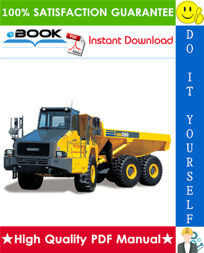 Thumbnail ☆☆ Best ☆☆ Komatsu HM350-1L Articulated Dump Truck Service Repair Manual (Serial Number: A10001 and UP)