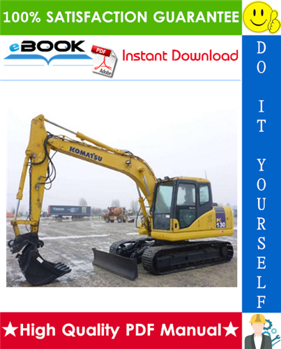 Thumbnail ☆☆ Best ☆☆ Komatsu PC130-6K, PC150LGP-6K Hydraulic Excavator Service Repair Manual
