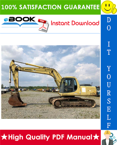 Thumbnail ☆☆ Best ☆☆ Komatsu PC210-6K, PC210LC-6K, PC240LC-6K, PC240NLC-6K Hydraulic Excavator Service Repair Manual (Serial Number: K32001 and up)