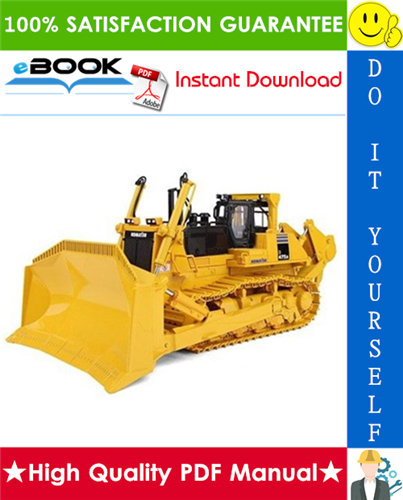 Thumbnail ☆☆ Best ☆☆ Komatsu D475A-5 Bulldozer Field Assembly Manual (Serial Number: 20001 and up)