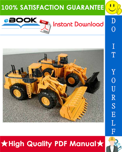 Thumbnail ☆☆ Best ☆☆ Komatsu WA900-3 Wheel Loader Field Assembly Manual (Serial Number: 50001 and up)