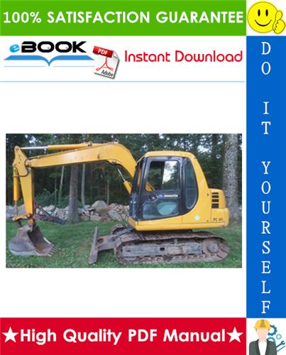 Thumbnail ☆☆ Best ☆☆ Komatsu PC60-7 Hydraulic Excavator Operation & Maintenance Manual (Serial Number: 45001 and up)
