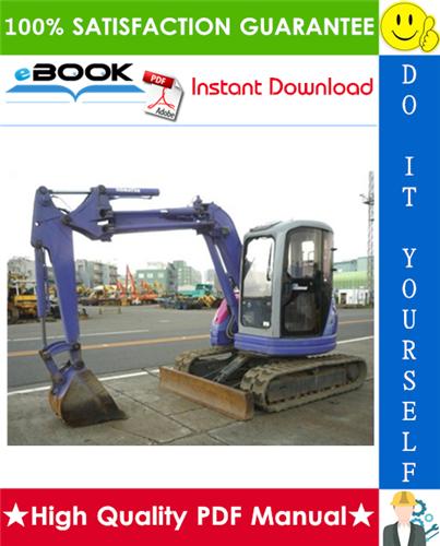 Thumbnail ☆☆ Best ☆☆ Komatsu PC50UU-2 Hydraulic Excavator Operation & Maintenance Manual (Serial Number: 8001 and up)