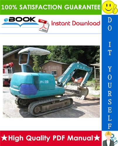 Thumbnail ☆☆ Best ☆☆ Komatsu PC25-1, PC30-7, PC40-7, PC45-1 Hydraulic Excavator Operation & Maintenance Manual