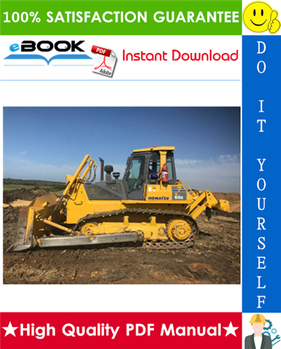 Thumbnail ☆☆ Best ☆☆ Komatsu D65E-12, D65P-12 Bulldozer Operation & Maintenance Manual  (Serial Number: 60948 and up, 60891 and up, J10001 and up)