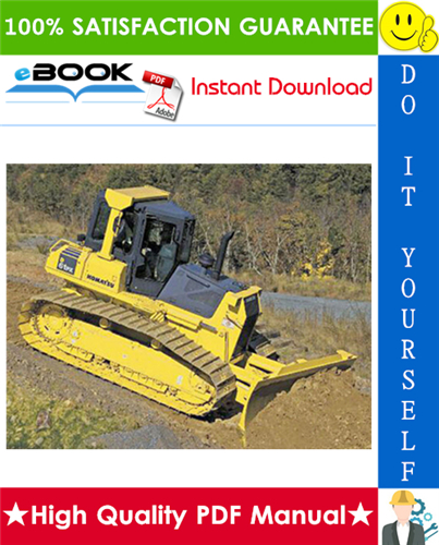 Thumbnail ☆☆ Best ☆☆ Komatsu D61EX-12, D61PX-12 Bulldozer Operation & Maintenance Manual  (Serial Number: 1106 and up, 1112 and up)