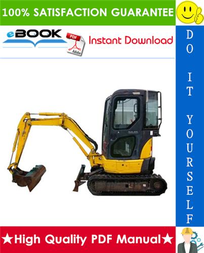 Thumbnail ☆☆ Best ☆☆ Komatsu PC20MRx-1 Hydraulic Excavator Operation & Maintenance Manual (Serial Number: 13055 and up)