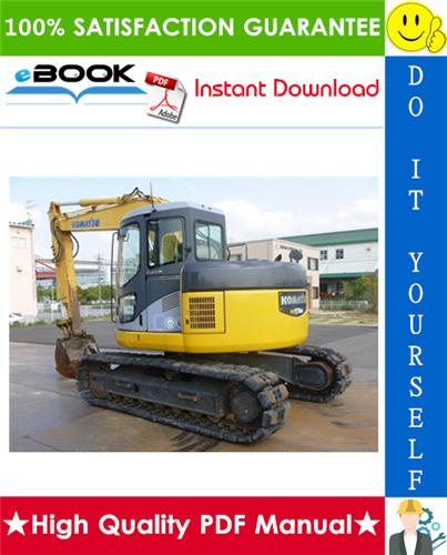 Thumbnail ☆☆ Best ☆☆ Komatsu PC128US-2 Hydraulic Excavator Operation & Maintenance Manual (Serial Number: 5001 and up)