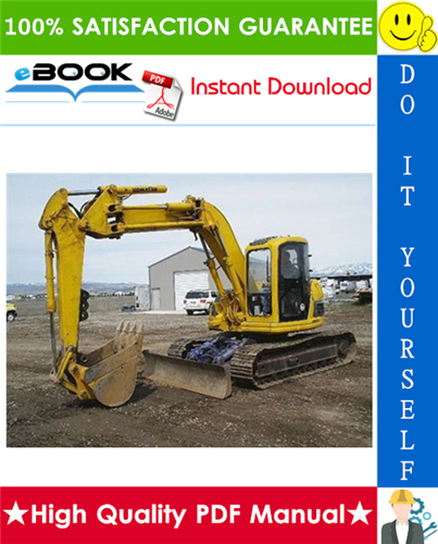 Thumbnail ☆☆ Best ☆☆ Komatsu PC128UU-2 Hydraulic Excavator Operation & Maintenance Manual (Serial Number: 5001 and up)