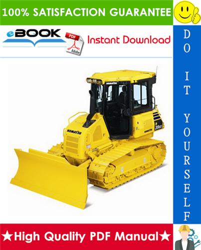 Thumbnail ☆☆ Best ☆☆ Komatsu D39EX-21, D39PX-21 Bulldozer Operation & Maintenance Manual (Serial Number: 1001 and up)