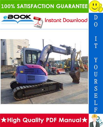 Thumbnail ☆☆ Best ☆☆ Komatsu PC58UU-3 Hydraulic Excavator Operation & Maintenance Manual (Serial Number: 20001 and up)
