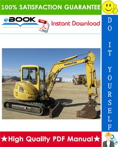 Thumbnail ☆☆ Best ☆☆ Komatsu PC40MRx-1, PC45MRx-1 Hydraulic Excavator Operation & Maintenance Manual  (Serial Number: 3938 and up, 2042 and up)