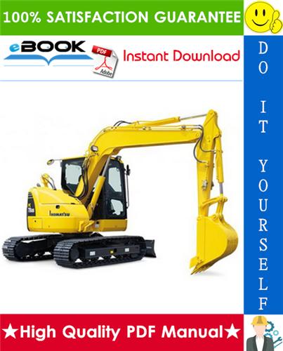 Thumbnail ☆☆ Best ☆☆ Komatsu PC78US-5 Hydraulic Excavator Operation & Maintenance Manual (Serial Number: 1001 and up)