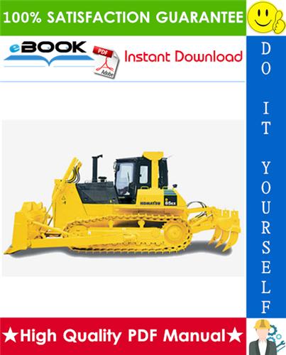 Thumbnail ☆☆ Best ☆☆ Komatsu D85A-18, D85E-18 Bulldozer Operation & Maintenance Manual (Serial Number: 26001 and up)