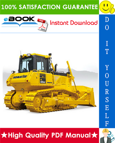 Thumbnail ☆☆ Best ☆☆ Komatsu D65EX-12, D65PX-12 Bulldozer Operation & Maintenance Manual  (Serial Number: 63403 and up,  63304 and up)