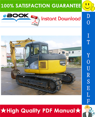 Thumbnail ☆☆ Best ☆☆ Komatsu PC128US-2, PC138USLC-2 Hydraulic Excavator Operation & Maintenance Manual  (Serial Number: 7731 and up, 1001 and up)