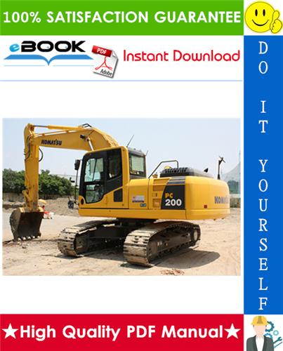 Thumbnail ☆☆ Best ☆☆ Komatsu PC200-3, PC210-3, PC220-3, PC240-3, PC280-3 Hydraulic Excavator Operation & Maintenance Manual